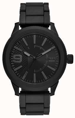 Diesel Mens All Black Rasp Watch Metal Bracelet DZ1873
