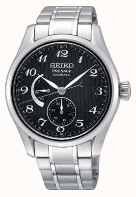Seiko Mens Presage Automatic Power Reserve Display Watch SPB061J1