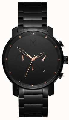 MVMT Mens Chrono 45mm Black Rose MC01-BBRG