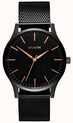 MVMT 40 Series Black Rose | Black PVD Mesh | Black Dial D-MT01-BBRG