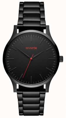 MVMT Mens 40 Series Black Link MT01-BL