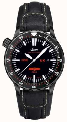 Sinn UX S GSG 9 PVD Leather 5000m Water Resistant 403.062 LEATHER