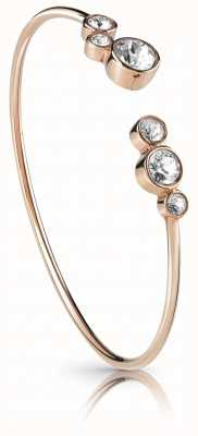 Guess All Around Guess Crystal Flexi Bangle Rose Gold UBB28138-L