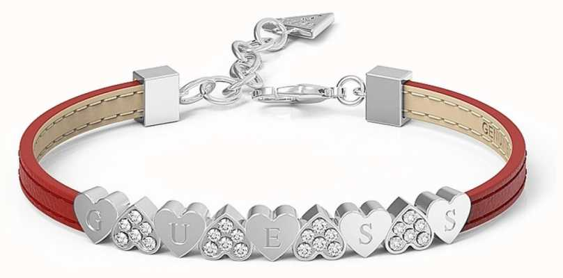 Guess My Gift For You Multi Heart Red Bracelet UBS28013