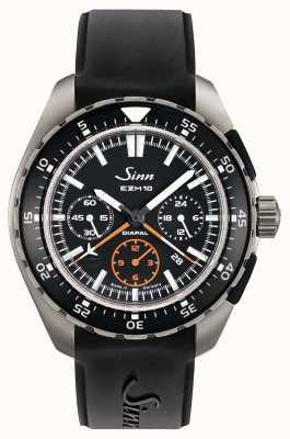 Sinn EZM 10 Testaf Pilot Chronograph Black Rubber 950.011 RUBBER