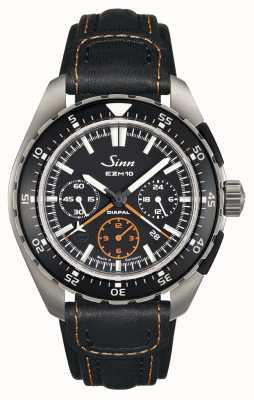 Sinn Mens EZM 10 Testaf Leather Strap 950.011 LEATHER