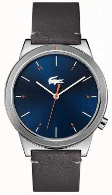 Lacoste Motion Moon Grey Leather Strap 2010990