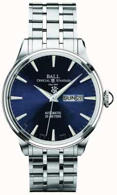 Ball Watch Company Trainmaster Eternity Blue Dial Automatic Day & Date Display NM2080D-SJ-BE