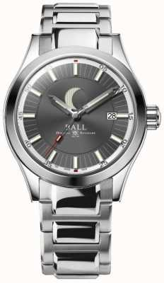 Ball Watch Company Engineer II Moon Phase Date Display Stainless Steel Bracelet NM2282C-SJ-GY