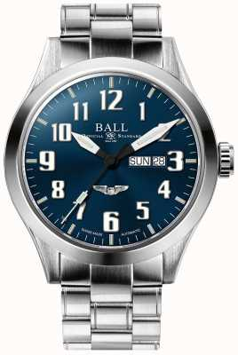 Ball Watch Company Engineer III Silver Star Blue Dial Day & Date Display NM2180C-S3J-BE