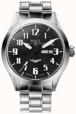 Ball Watch Company Engineer III Silver Star Black Dial Day & Date Display NM2180C-S3J-BK