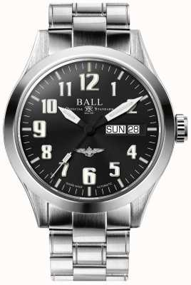 Ball Watch Company Engineer III Silver Star Black Dial Stainless Steel Bracelet NM2182C-S2J-BK