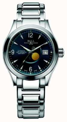 Ball Watch Company Ohio Moon Phase Automatic Blue Dial Date Display NM2082C-SJ-BE