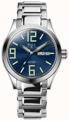 Ball Watch Company Engineer II Genesis Blue Dial Stainless Steel Day & Date NM2026C-S7J-BE
