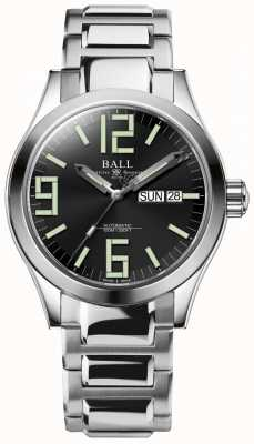 Ball Watch Company Engineer II Genesis Black Dial Stainless Steel Day & Date NM2026C-S7J-BK