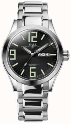 Ball Watch Company Engineer II Genesis Black Dial Stainless Steel Day & Date NM2028C-S7-BK