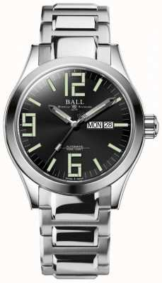 Ball Watch Company Engineer II Genesis Black Dial Stainless Steel Day & Date NM2028C-S7J-BK