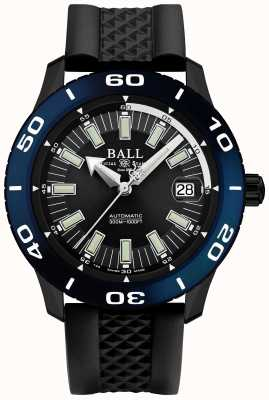 Ball Watch Company Fireman Automatic NECC Blue Bezel Date Display DM3090A-P5J-BK