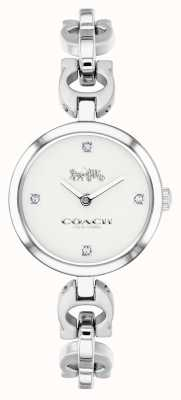 Coach Womens Signature Chain Stainless Steel Watch 14503077