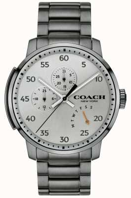 Coach Mens Bleecker Multifunction Watch Grey 14602360