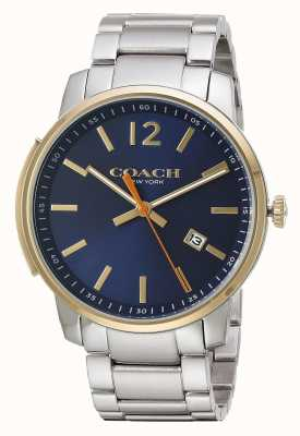 Coach Mens Bleecker Slim Blue Dial 14602342