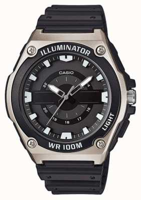 Casio Mens Black Resin Illuminator Watch MWC-100H-1AVEF