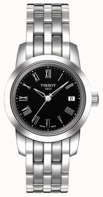 Tissot Womens Classic Dream Stainless Steel Black Dial T0332101105300