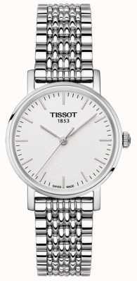 Tissot Women's Everytime Stainless Steel Bracelet Silver Dial T1092101103100
