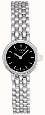 Tissot Womens Lovely Stainless Steel Black Dial Swiss Made T0580091105100