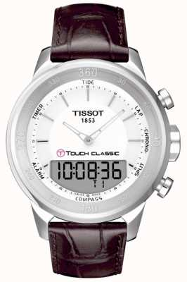 Tissot Mens T-Touch Classic Alarm Chronograph T0834201601100