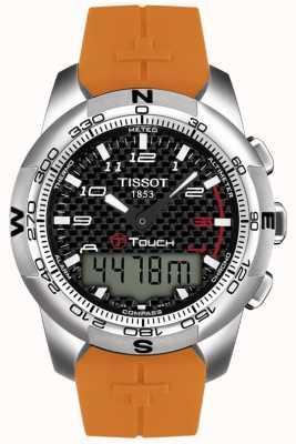 Tissot Mens T-Touch II Titanium Alarm Chronograph T0474204720701