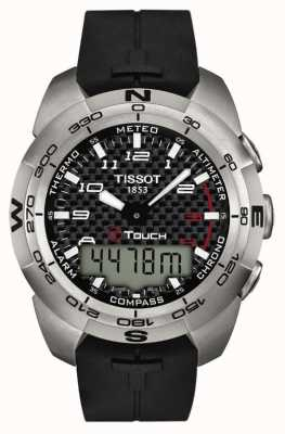 Tissot Mens T-Touch Expert Alarm Chronograph T0134204720200