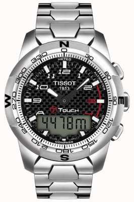 Tissot Mens T-Touch II Titanium Alarm Chronograph T0474204420700