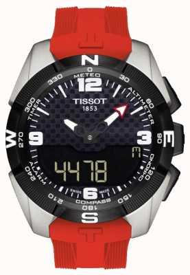 Tissot Mens T-Touch Expert Solar Titanium Alarm Chronograph T0914204705700