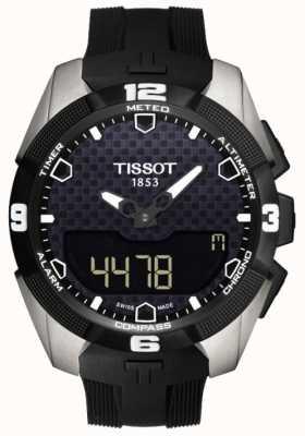 Tissot Mens T-Touch Expert Solar Titanium Alarm Chronograph T0914204705100