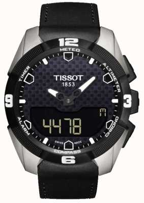 Tissot Mens T-Touch Expert Solar Titanium Alarm Chronograph T0914204605100