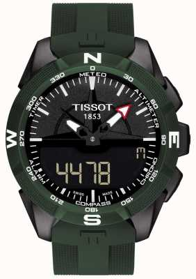 Tissot Mens T-Touch Expert Solar II Alarm Chronograph T1104204705100