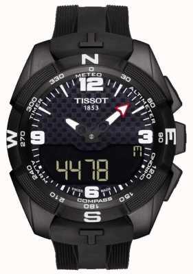Tissot Mens T-Touch Expert Solar Alarm Chronograph T0914204705701