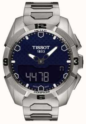 Tissot Mens T-Touch Titanium Expert Solar Alarm Chrono T0914204404100