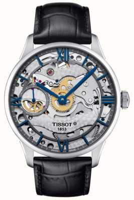 Tissot Mens Chemin Des Tourelles Squelette Mechanical Swiss Made T0994051641800