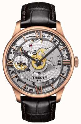 Tissot Mens Chemin Des Tourelles Squelette Mechanical Swiss Made T0994053641800