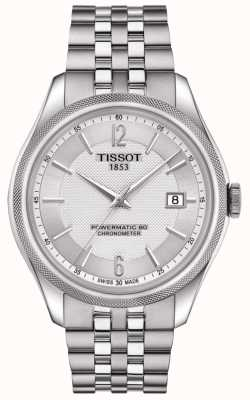 Tissot Mens Ballade COSC Silicon Balance Spring Powermatic 80 T1084081103700