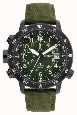Citizen Mens Eco-drive Promaster Altichron WR200 Watch BN4045-12X