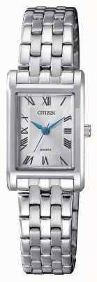 Citizen Womens Quartz Silver Dial Bracelet EJ6120-54A