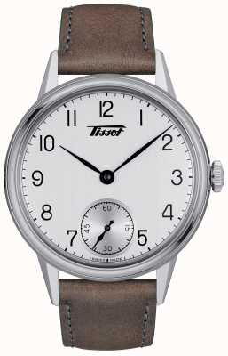 Tissot Heritage Mens Mechanical Brown Leather Strap T1194051603701