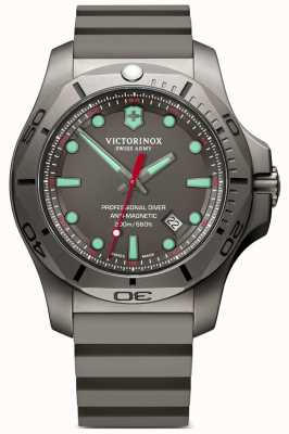 Victorinox Swiss Army I.N.O.X Professional Diver Titanium Grey Rubber Strap 241810
