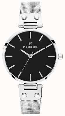 Mockberg Women's Elise Noir Stainless Steel Mesh MO1604