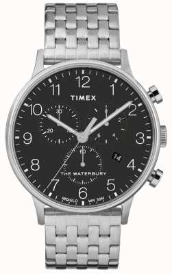 Timex Waterbury Classic Chronograph Stainless Steel Watch TWF3C250UK