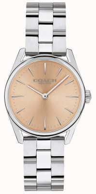 Coach Womens Modern Luxury Silver Tone Bracelet 14503207