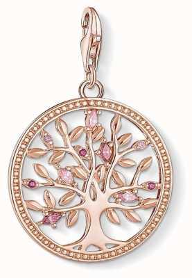 Thomas Sabo Tree Of Love Rose Gold Charm Pendant 1700-626-9